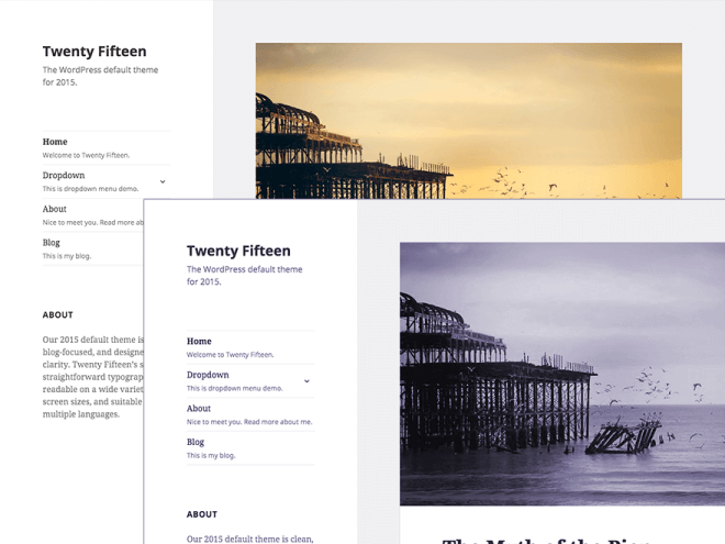 Exemplo de Child Themes do WordPress