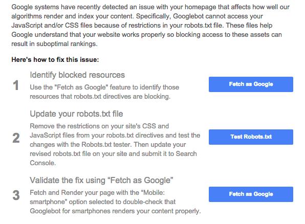 Robots.txt para WordPress tem impossibilitando, em alguns casos, o Googlebot de acessar os arquivos CSS e JavaScript