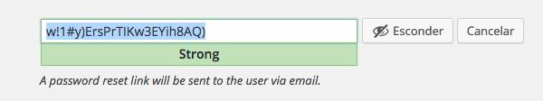 Senhas fortes serão exibidas, e sugeridas, ao criar novos usuários no WordPress