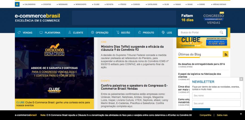 Portal E-Commerce Brasil