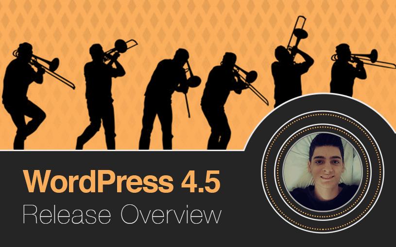 WordPress 4.5 atualizado