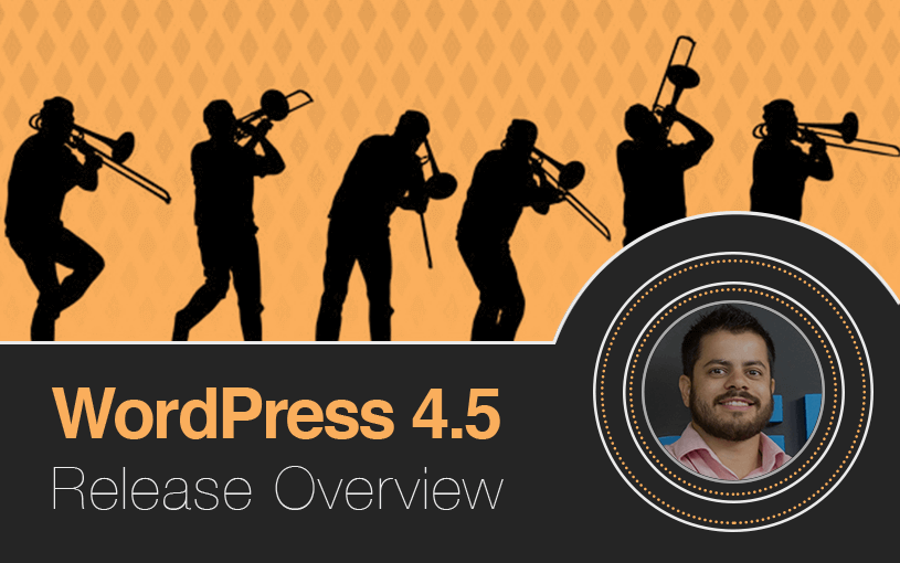 WordPress 4.5 Release Overview Leandro Erro de Comentários