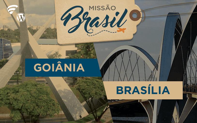 Missão Brasil chega a Goiânia e Brasília