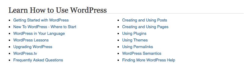 Suporte gratuito WordPress 3