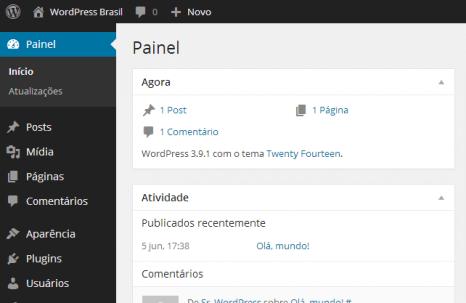 atualizações de segurança WordPress