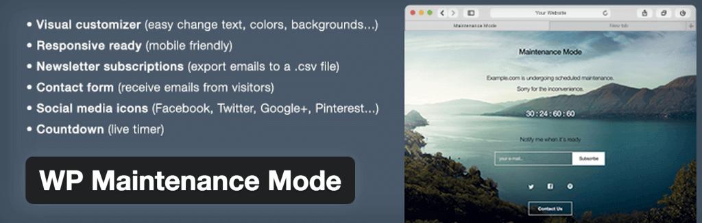 modo-manutencao-wordpress