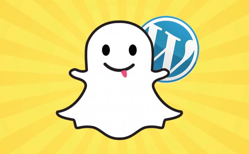 Coloque seu Snapchat no WordPress e consiga mais seguidores