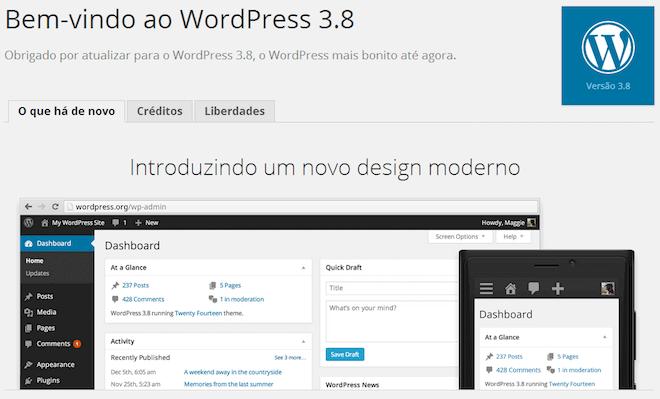 WordPress mobile e a implementação do Design Responsivo no Painel do WP 3.8