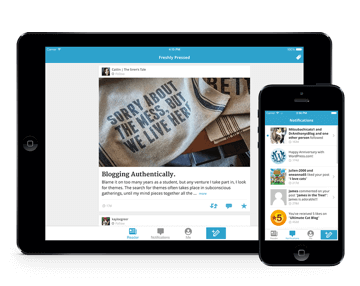WordPress Mobile. App para iOS