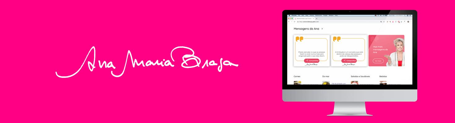 Site da Ana Maria Braga