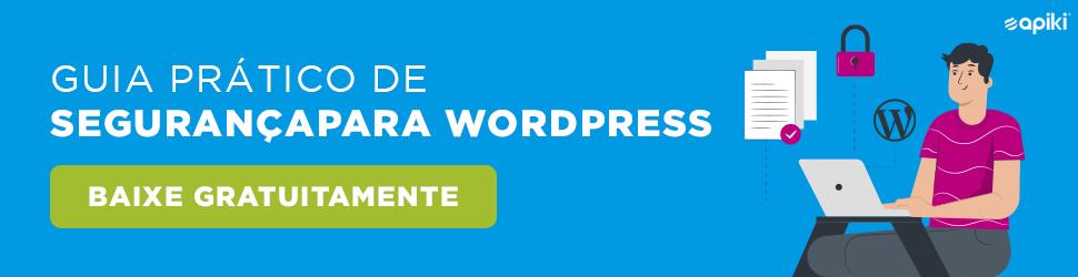 Guia de segurança para WordPress Gratuito