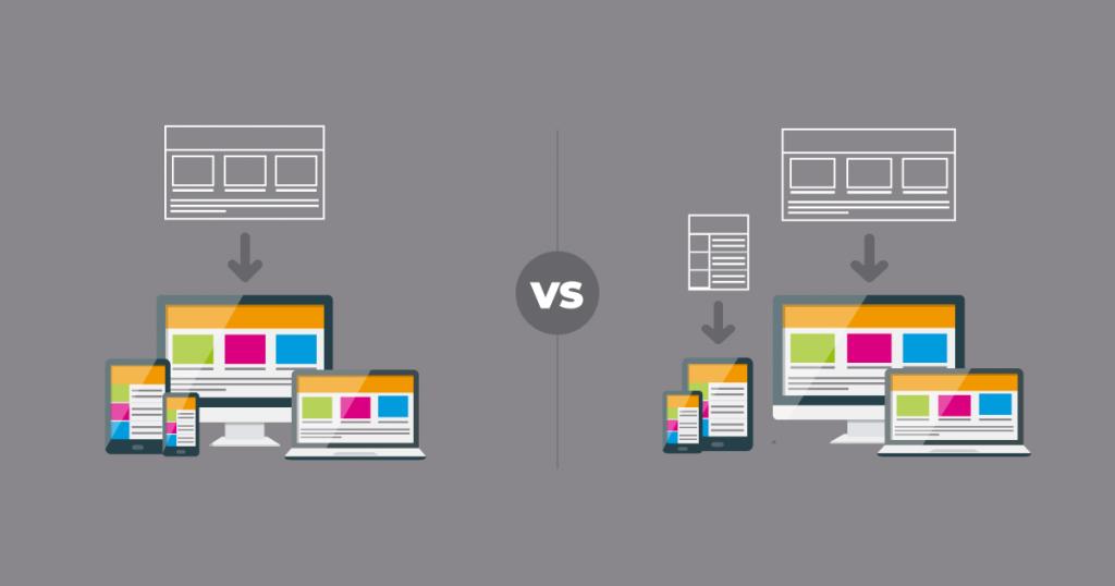 Design Adaptativo versus Design Responsivo