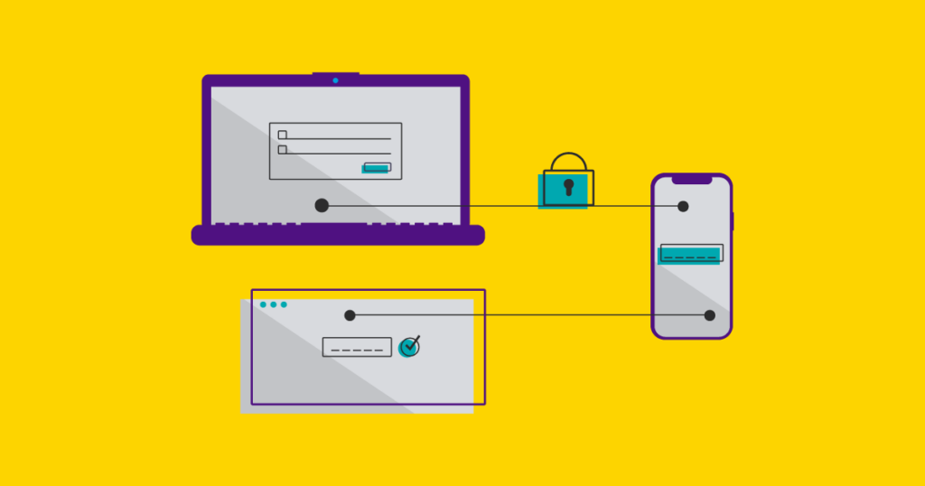 Ilustração do método 2FA no WordPress